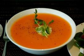 Pumpkin Soup - photo by Ashley Morse