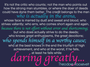 Dare-Greatly-man in the arena